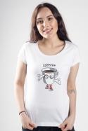 náhled - Zombie kafe dámske tričko