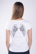 náhled - Krídla biele dámske tričko
