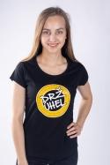 náhled - Drž úhel čierne dámske tričko