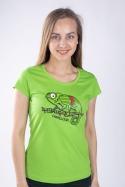 náhled - Chameloun zelené dámske tričko