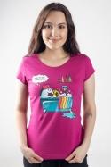 náhled - Ako sa stat' jednorožcom dámske tričko