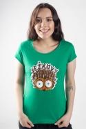 náhled - Ježkovy oči dámske tričko