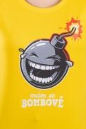 náhled - Mám se bombově dámske tričko