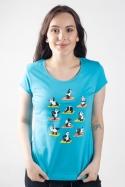 náhled - Pandia jóga dámske tričko
