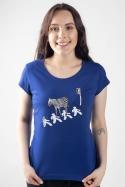 náhled - Zebra dámske tričko