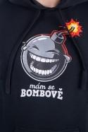 náhled - Mám se bombově pánska mikina