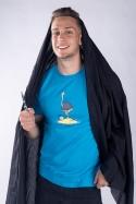 náhled - Pštrosečník pánske tričko