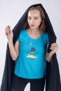 náhled - Pštrosečník dámske tričko