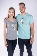 náhled - Lietajúci tanier dámske tričko