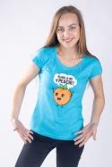 náhled - V peachi dámske tričko
