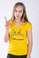 náhled - Zlé tričko dámske tričko