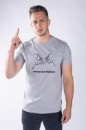 náhled - Zlé tričko pánske tričko