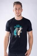 náhled - Vyliate pánske tričko