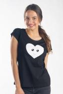 náhled - Srdiečko dámske tričko