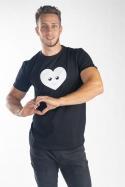 náhled - Srdiečko pánske tričko