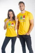 náhled - Novomanželia z želé dámske tričko