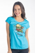 náhled - Fast food dámske tričko