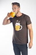 náhled - Na pivě pánske tričko