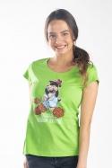 náhled - Krtko zahradník dámske tričko