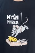 náhled - Myšn Impossible pánske tričko