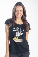 náhled - Myšn Impossible dámske tričko