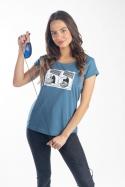 náhled - Myš na plastike dámske tričko