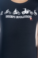 náhled - Bikers evolution dámske tričko
