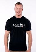 náhled - Bikers evolution pánske tričko