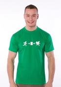 náhled - Útek po slovensky pánske tričko