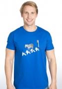 náhled - Zebra pánske tričko