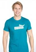 náhled - Coma modrozelené pánske tričko
