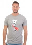 náhled - Svaly šedé pánske tričko