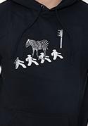 náhled - Zebra pánska mikina