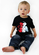 náhled - Anjel vs. diabol detské tričko