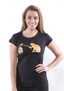 náhled - Mačka a myš dámske tričko