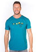 náhled - Testované modré pánske tričko