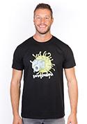 náhled - Fotobuňka čierne pánske tričko