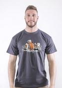 náhled - Mačacie hlavy pánske tričko