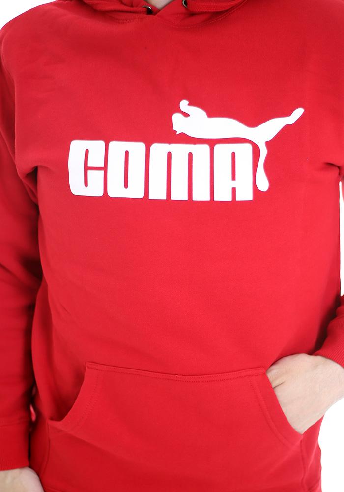... náhled - Coma červená pánska mikina 535c383a5fa