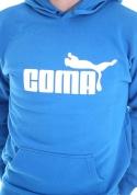 náhled - Coma modrá pánska mikina