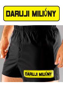 Detail návrhu Daruji milióny