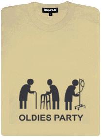 Detail návrhu Oldies Party