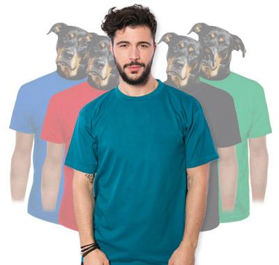Pánske tričká s volným strihom