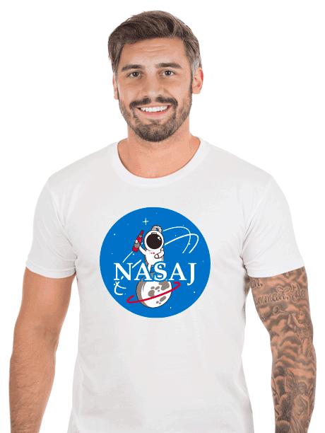 Pánske tričko  Nasaj