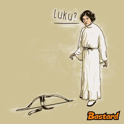 Luke a Leia