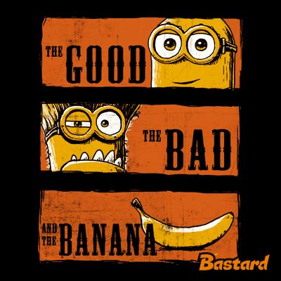Hodný zlý a banán