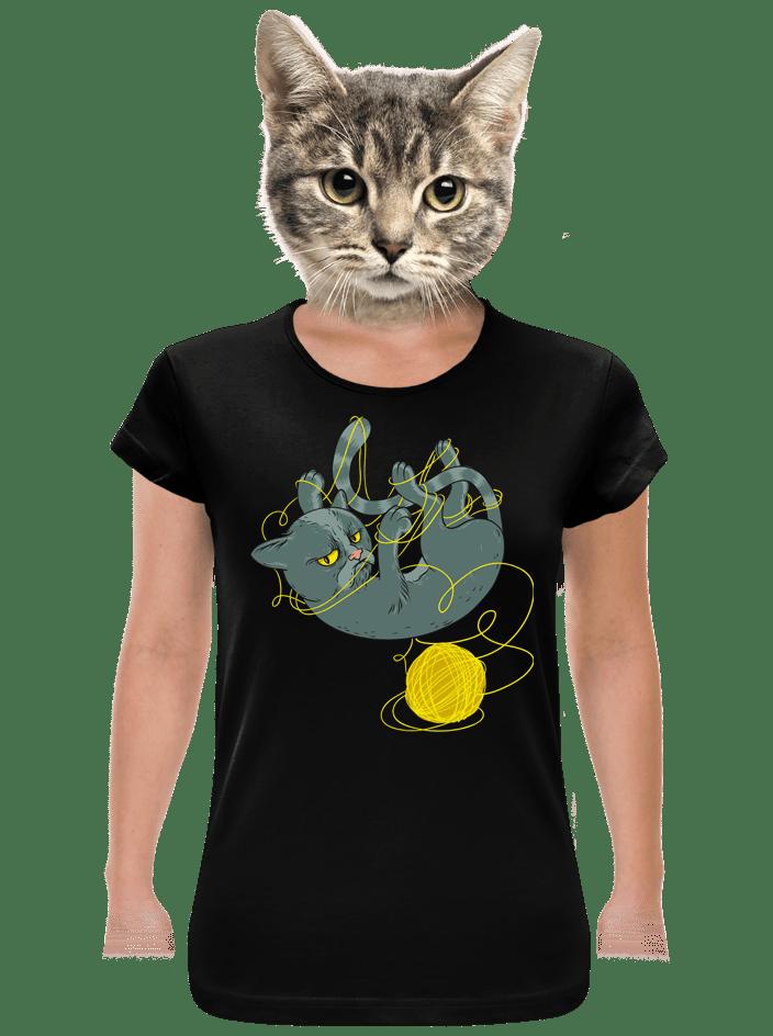 Nevrlý kocúr dámske tričko