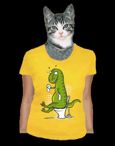 Rexíkov problém žlté dámske tričko