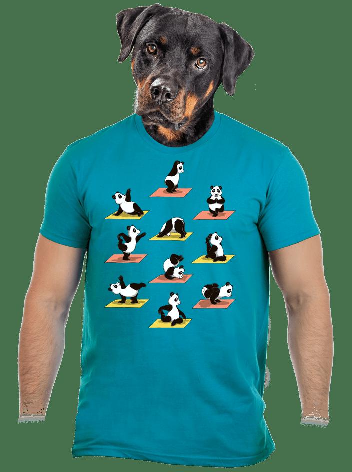 Pandia jóga pánske tričko