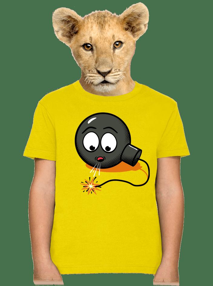 Bomba detské tričko